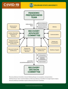 Pandemic Preparedness Team Working Graphic
